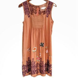 Odd Molly Embroidered Summer Dress M/2